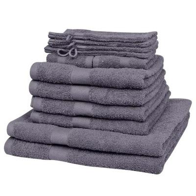Súbor 12 bavlnené uteráky 500 g/m2
