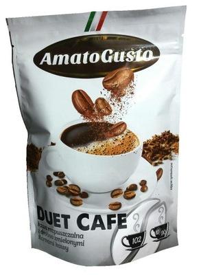 кофе растворимая AMATO GUSTO ДУЭТ КАФЕ 200? .