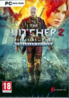 Wiedźmin 2 Edycja Rozszerzona Gra PC DVD + kod GOG
