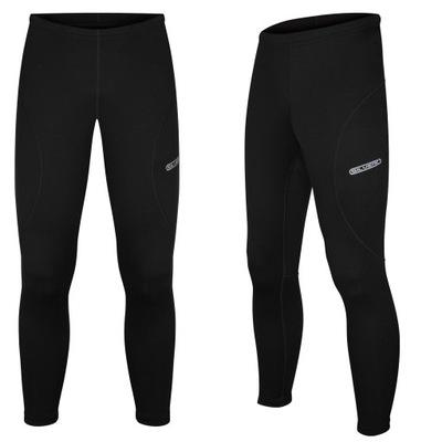 Spodnie termiczne termo SILVER do biegania XXL