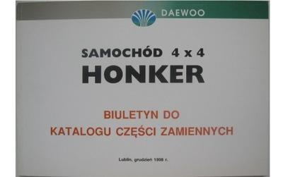 HONKER 4X4 DAEWOO РЕМОНТ HONKER KATALOG ЗАПЧАСТИ PL