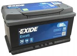 EXIDE EXCELL 800Ah 700A EB802