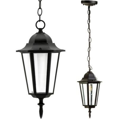 Lampa Ogrodowa Wisząca ZEWNĘTRZNA LATARNIA E27