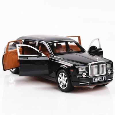 1:24 Rolls-Royce Phantom Toy Car czarny