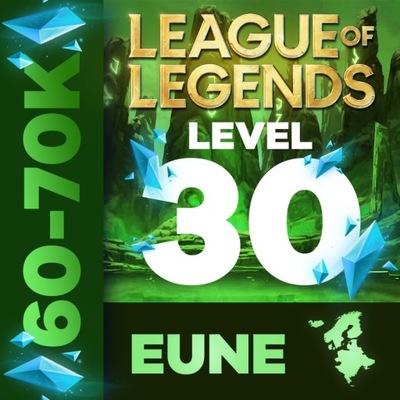 League Of Legends 60k+ BE KONTO LOL EUNE UNRANKED