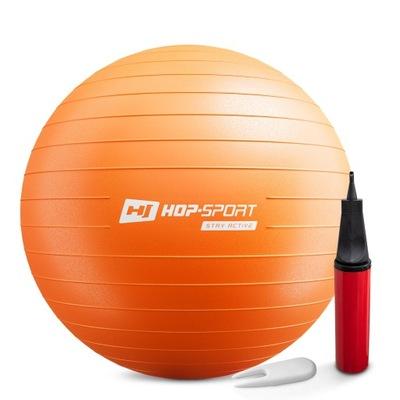 Piłka gimnastyczna fitness z pompką 65 cm