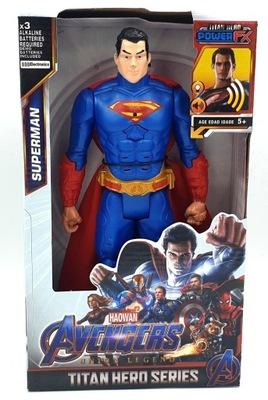 AVENGERS Interaktywna figurka 30 cm SUPERMAN
