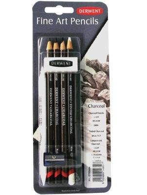 DERWENT CHARCOAL микс - уголь в обычного карандаша