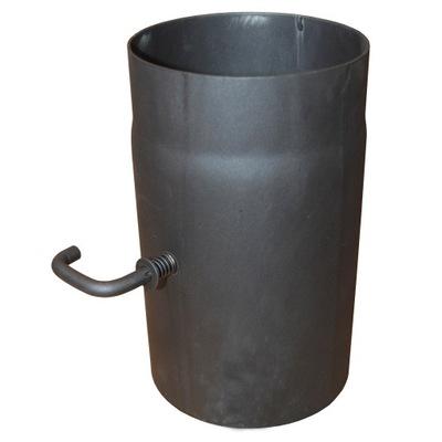Potrubie pre čiernu klapku komínovej pece 2mm fi150