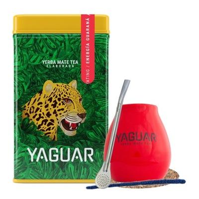 комплект Калебас Yerbera банка с Yaguar Энергия Ноль ,5кг