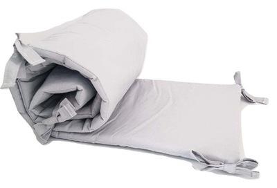 Ochraniacz do łóżeczka z pieskiem szary, sztywny 7490072919