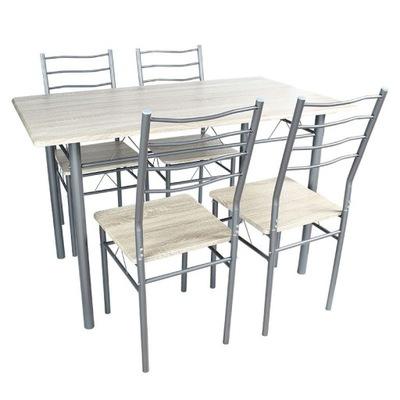 ZESTAW do KUCHNI 4 szt krzeseł + stół 70x110 X103