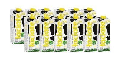 Zestaw 12x Sztuk Mleko UHT Łaciate 2% 1l
