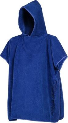 Ręcznik poncho dziecięce okrycie 80x140 mikrofibra