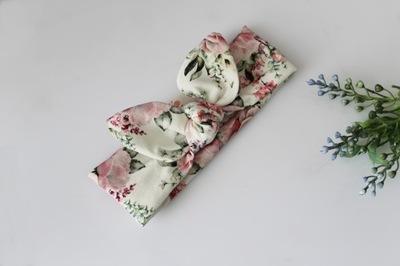 Opaska PIN up bukieciki kwiatów