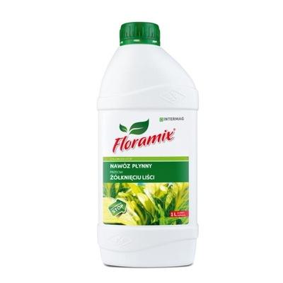 FLORAMIX CHLOROZA STOP przeciw żółknięciu liści 1L