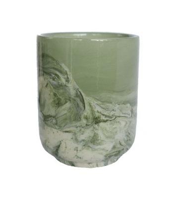 Czarka do herbaty ceramika japońska Midori Marble