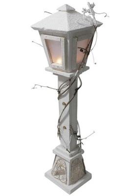 Праздничный instagram фонарь Лампа LED белая 60cm