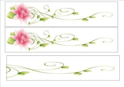 вафля полоска на сторону торта цветы