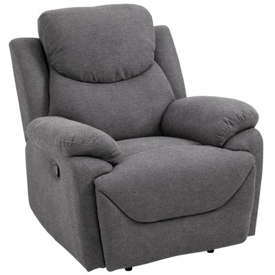Fotel rozkładany relaksacyjny telewizyjny HOMCOM
