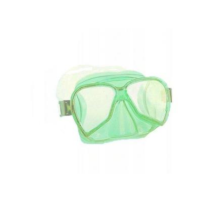 Maska Okulary do Nurkowania Dziecięce zielone
