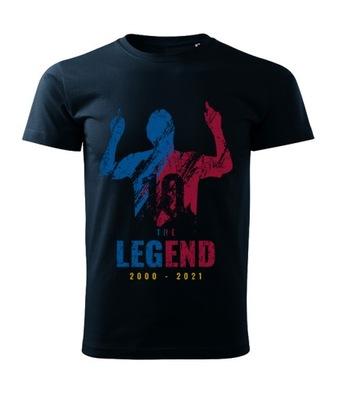 Koszulka kolekcjonerska Messi koniec Barcelona L