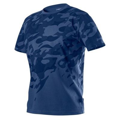 T-shirt roboczy Camo Navy rozmiar L NEO 81-603-L