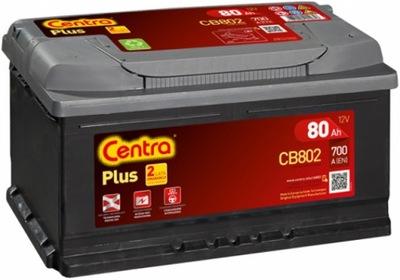 CENTRA PLUS CB802 80Ah 700A