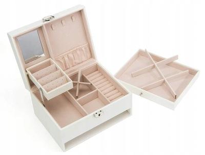 Szkatułka pudełko organizer NA biżuterię etui