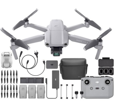 Дрон DJI Mavic Air 2 4К Fly More Комбо- ??????????