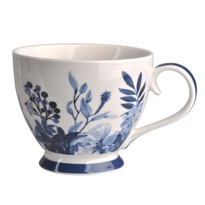 чашка внизу фарфор INFINITY BLUE 400 B