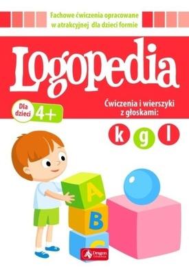 Logopedia. Ćwiczenia i wierszyki z głoską k, g, l