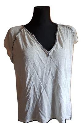 Bluzka biała S H&M OB21