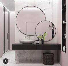 Sada okrúhlych okrúhlych zrkadiel 80cm + 40cm