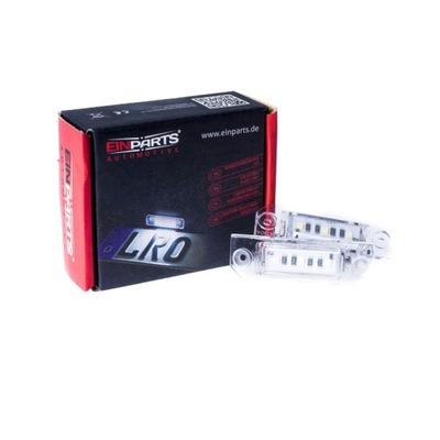 EINPARTS AUTOMOTIVE EP120 ЛАМПОЧКИ НОМЕРА LED (СВЕТОДИОД )