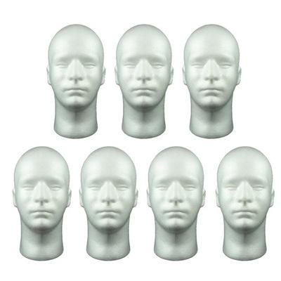 Manekin męski styropianowy