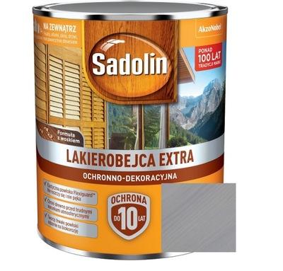SADOLIN EXTRA LAKIEROBEJCA JASNY SZARY 0,75L