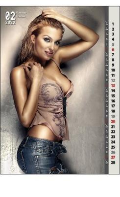 kalendarz 2022 jeans hot girls laski dziewczyny