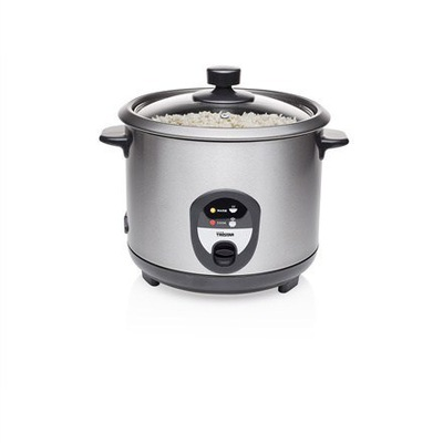 Tristar RK-6127 Rice cooker Black/Stainless steel,