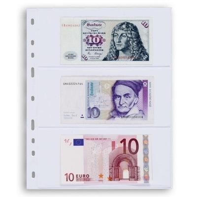 Karty / Strony na banknoty Leuchtturm Optima 3C