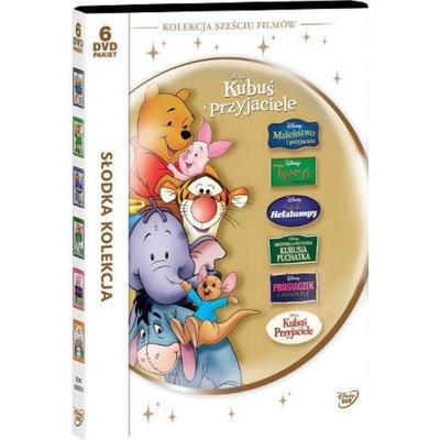 SŁODKA KOLEKCJA KUBUŚ I PRZYJACIELE 6 DVD