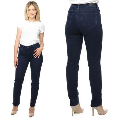 LEE MARION spodnie damskie proste jeansy W36 L33