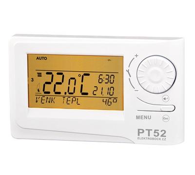 Termostat s komunikáciou OpenTherm + PT52