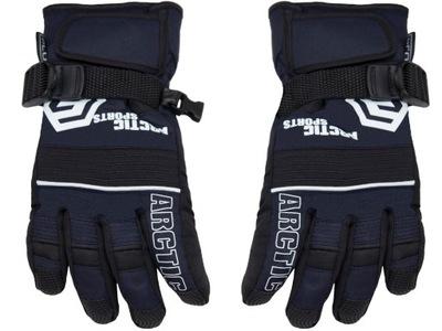 ORTALIONOWE rękawiczki OCIEPLANE narciarskie 6 7
