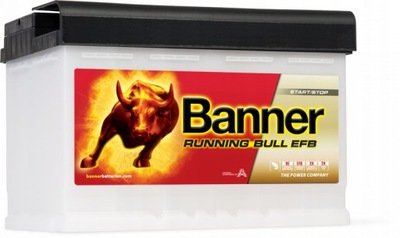 BANNER RUNNING BULL EFB 570 11 70Ah 660A