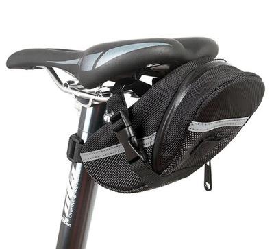 Pojemna sakwa rowerowa pod siodełko torba na rower