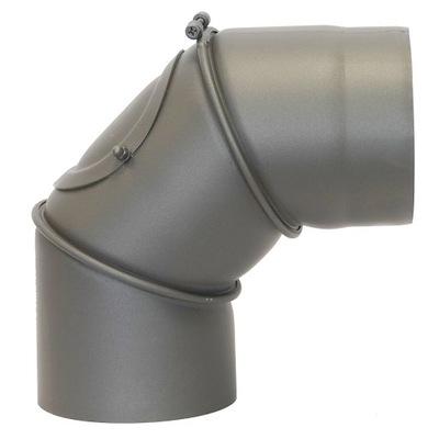 Nastaviteľný ohyb komína 90 ° Ø 250 mm