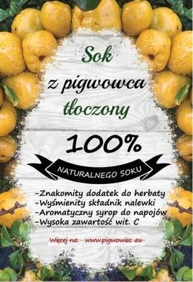 СОК отжима PIGWOWIEC 100 % фруктам ?? айва 3Л