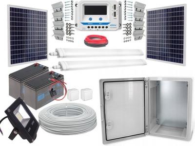 Duży zestaw LED Panel słoneczny fotowoltaiczny 55W