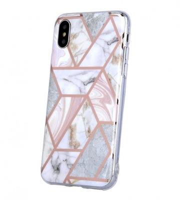 MARMUR etui marmurkowe różowe Samsung S20 Ultra